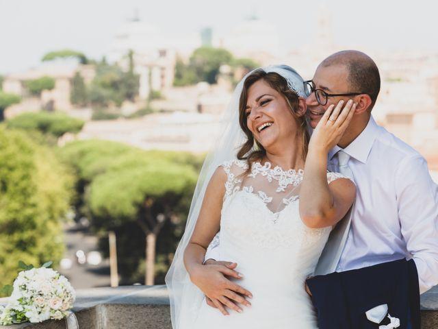Il matrimonio di Ambrogio e Michela a Roma, Roma 1