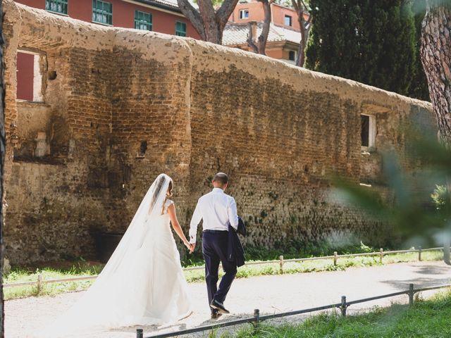 Il matrimonio di Ambrogio e Michela a Roma, Roma 3