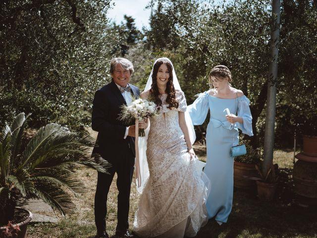 Il matrimonio di Matteo e Guendalina a Barberino Val d'Elsa, Firenze 7