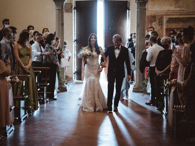Il matrimonio di Matteo e Guendalina a Barberino Val d'Elsa, Firenze 9