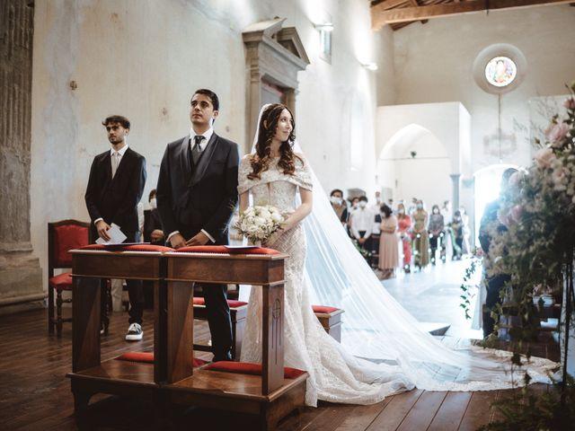 Il matrimonio di Matteo e Guendalina a Barberino Val d'Elsa, Firenze 10