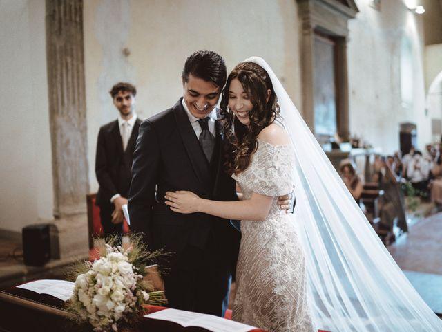 Il matrimonio di Matteo e Guendalina a Barberino Val d'Elsa, Firenze 13