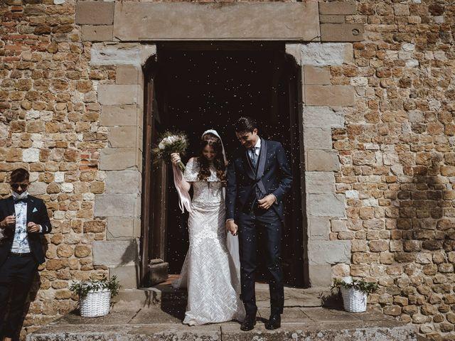 Il matrimonio di Matteo e Guendalina a Barberino Val d'Elsa, Firenze 16