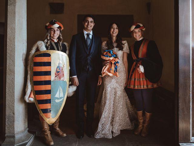 Il matrimonio di Matteo e Guendalina a Barberino Val d'Elsa, Firenze 17