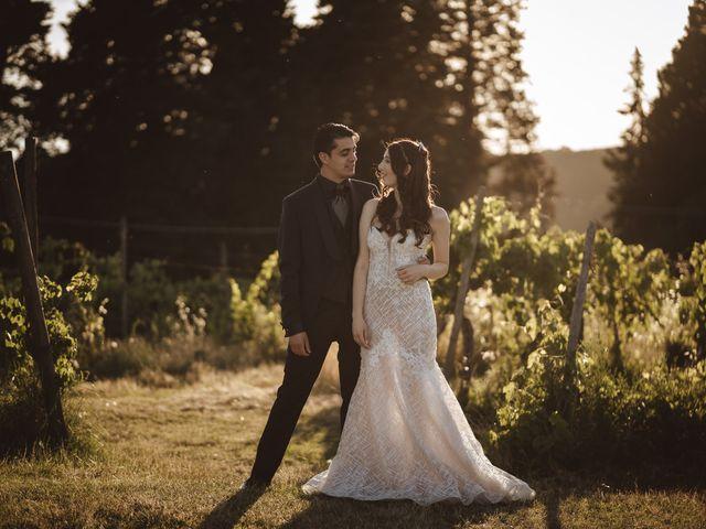 Il matrimonio di Matteo e Guendalina a Barberino Val d'Elsa, Firenze 22