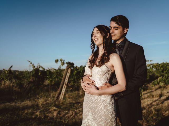 Il matrimonio di Matteo e Guendalina a Barberino Val d'Elsa, Firenze 2