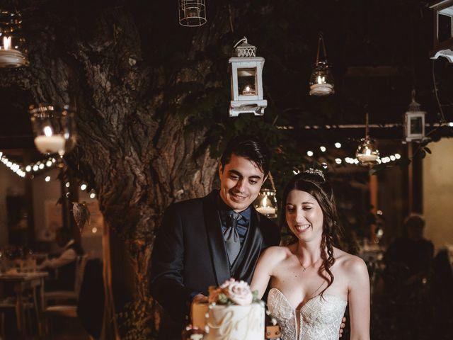 Il matrimonio di Matteo e Guendalina a Barberino Val d'Elsa, Firenze 25