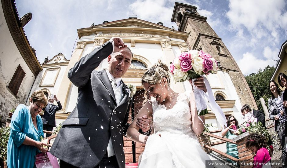 Il matrimonio di Davide e Chiara a Rocca Susella, Pavia