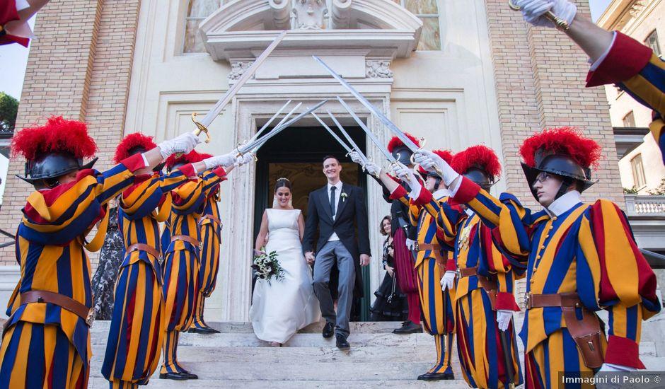 Il matrimonio di Joseph e Pilar a Roma, Roma