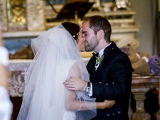 Le nozze di Gloria e Allan