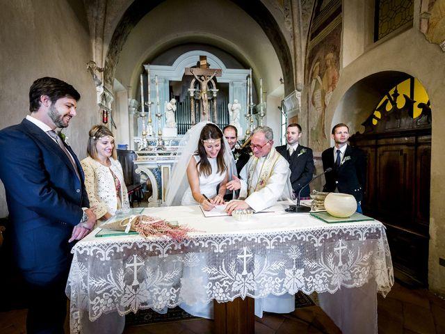 Il matrimonio di Allan e Gloria a Brunello, Varese 18
