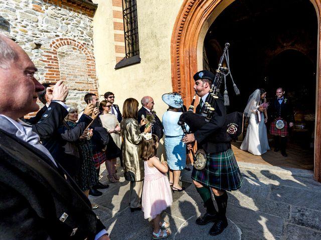 Il matrimonio di Allan e Gloria a Brunello, Varese 25