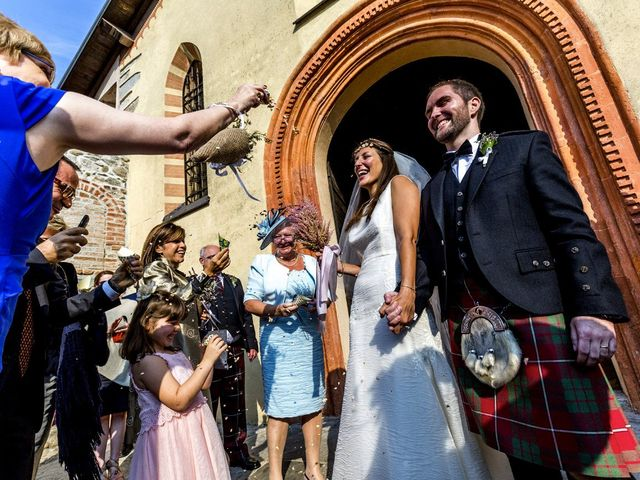 Il matrimonio di Allan e Gloria a Brunello, Varese 26
