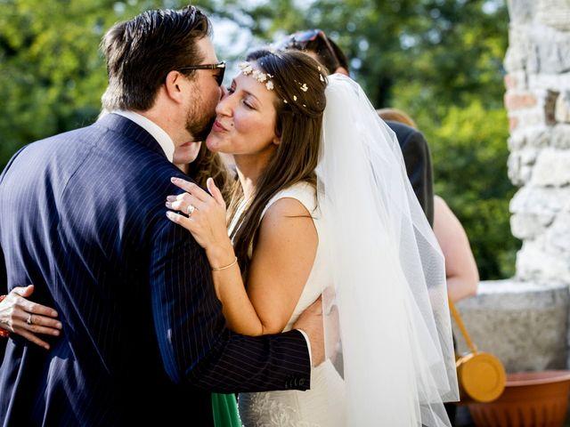 Il matrimonio di Allan e Gloria a Brunello, Varese 43