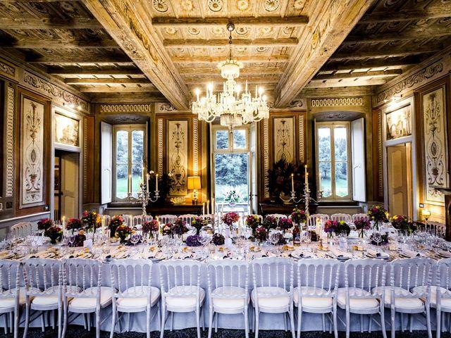 Il matrimonio di Allan e Gloria a Brunello, Varese 57