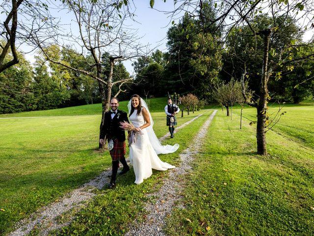 Il matrimonio di Allan e Gloria a Brunello, Varese 60