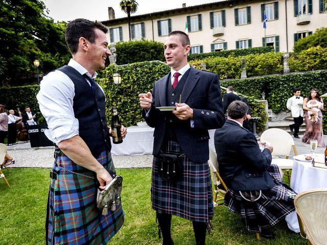 Il matrimonio di Allan e Gloria a Brunello, Varese 69