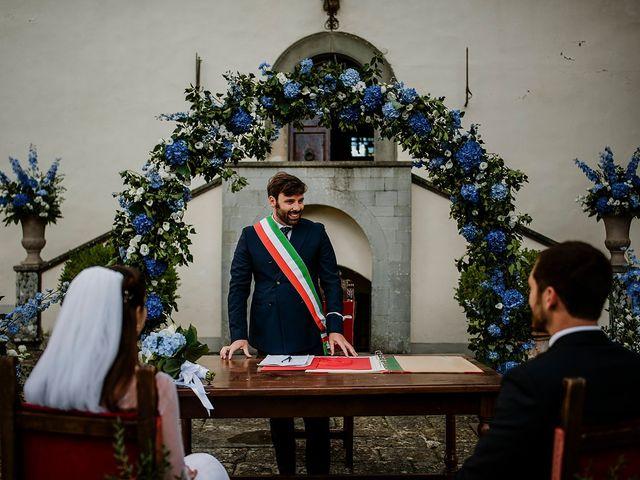 Il matrimonio di Massimiliano e Eliana a Terranuova Bracciolini, Arezzo 15