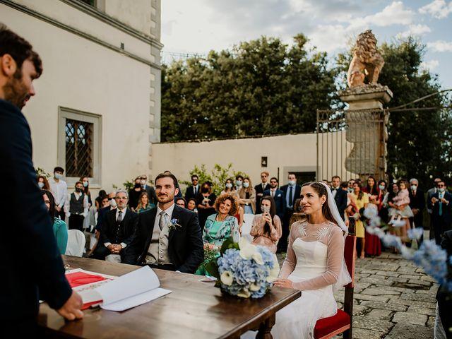 Il matrimonio di Massimiliano e Eliana a Terranuova Bracciolini, Arezzo 17