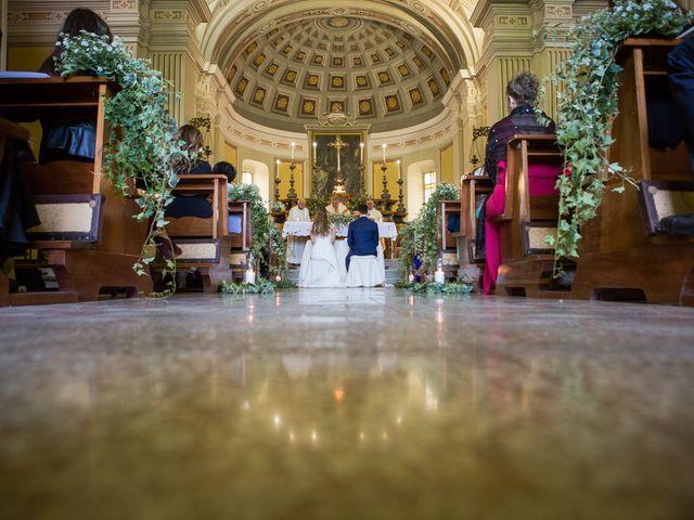 Il matrimonio di Andrea e Giulia a Solignano, Parma 29