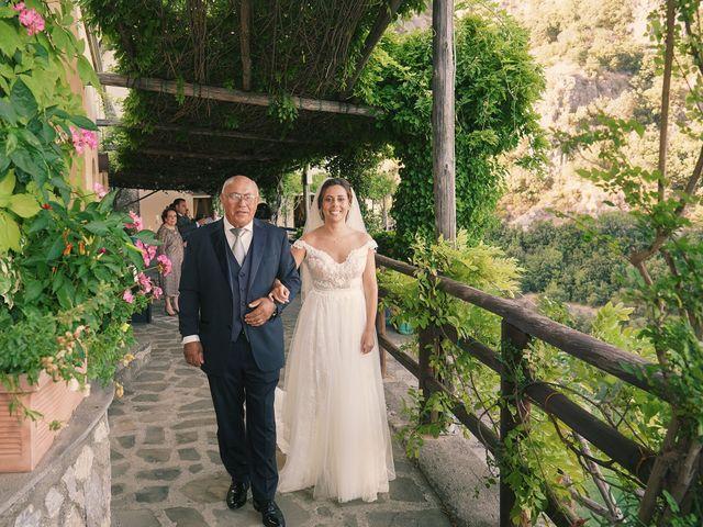 Il matrimonio di Antonella e Stefano a Maiori, Salerno 34