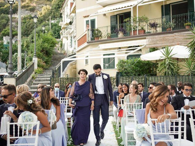 Il matrimonio di Antonella e Stefano a Maiori, Salerno 36