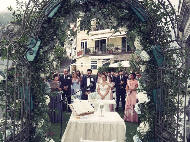 Il matrimonio di Antonella e Stefano a Maiori, Salerno 45