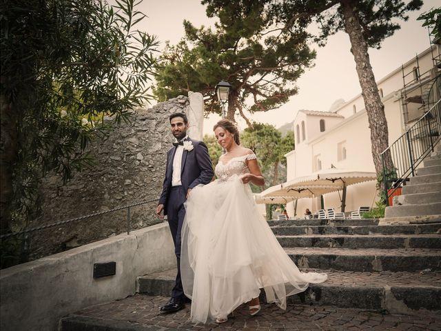Il matrimonio di Antonella e Stefano a Maiori, Salerno 51