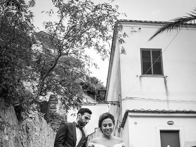 Il matrimonio di Antonella e Stefano a Maiori, Salerno 54