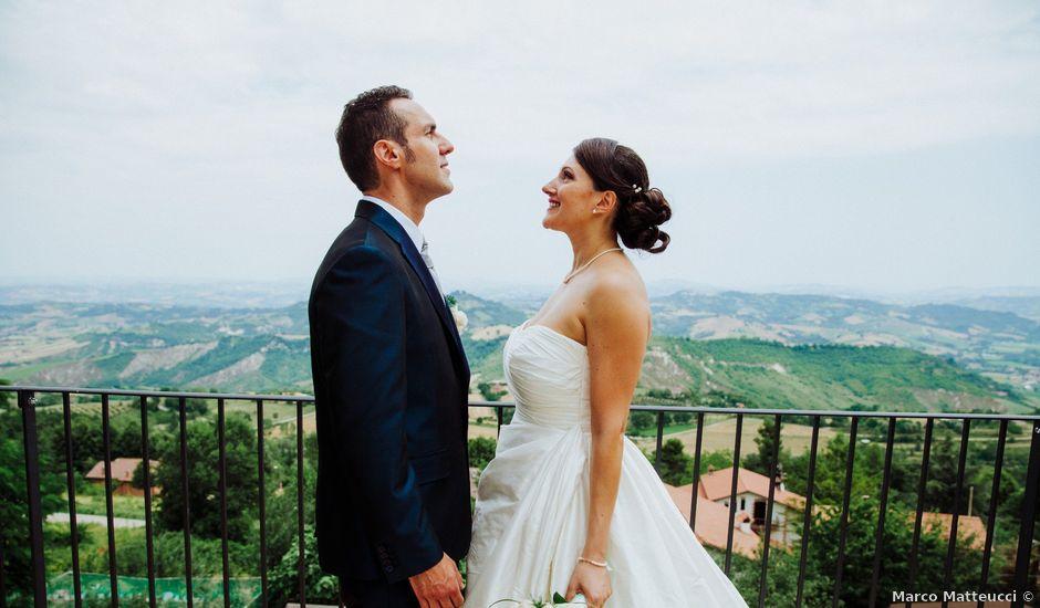 Il matrimonio di Daniele e Maria a Montefalcone Appennino, Fermo