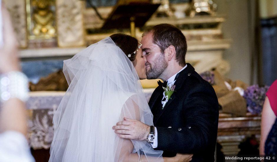 Il matrimonio di Allan e Gloria a Brunello, Varese