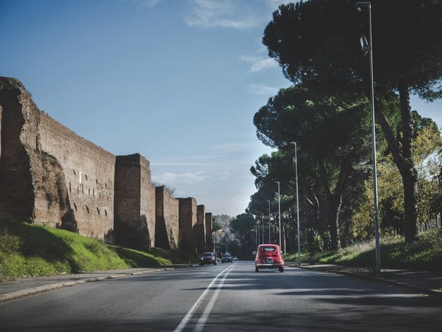 Il matrimonio di Michele e Monica a Roma, Roma 49