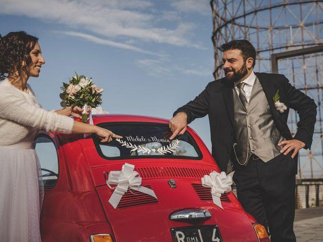 Il matrimonio di Michele e Monica a Roma, Roma 113