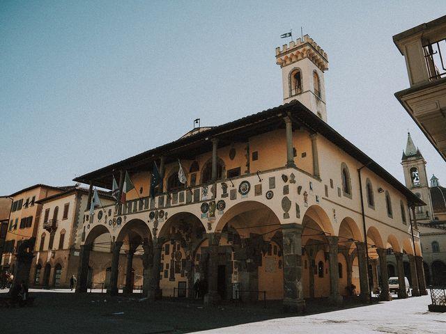 Il matrimonio di Tommaso e Carlotta a San Giovanni Valdarno, Arezzo 39