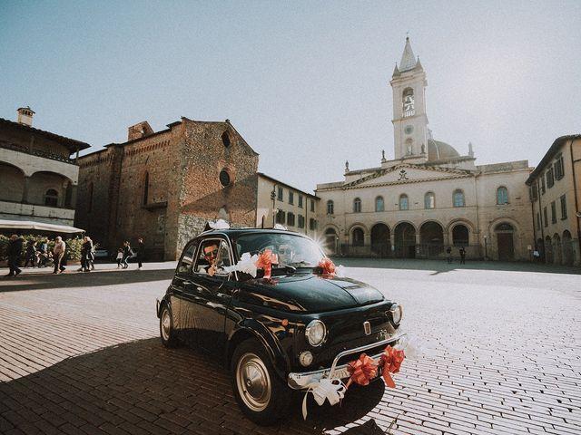 Il matrimonio di Tommaso e Carlotta a San Giovanni Valdarno, Arezzo 40