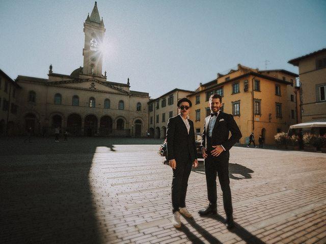 Il matrimonio di Tommaso e Carlotta a San Giovanni Valdarno, Arezzo 41