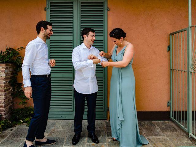 Il matrimonio di Rifat e Chiara a Penango, Asti 3