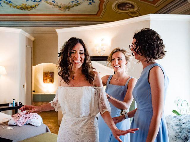 Il matrimonio di Rifat e Chiara a Penango, Asti 8