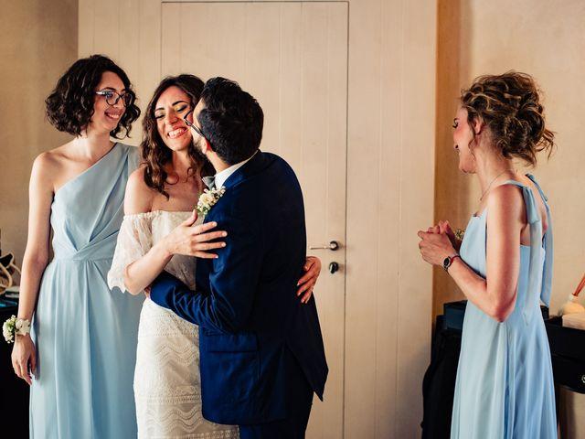 Il matrimonio di Rifat e Chiara a Penango, Asti 12