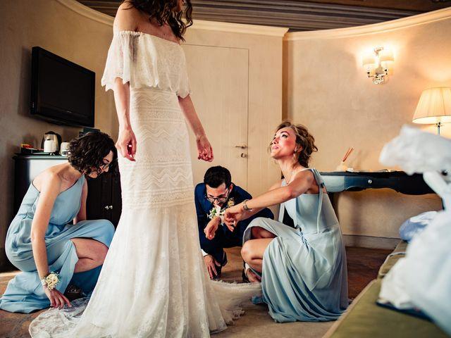 Il matrimonio di Rifat e Chiara a Penango, Asti 13
