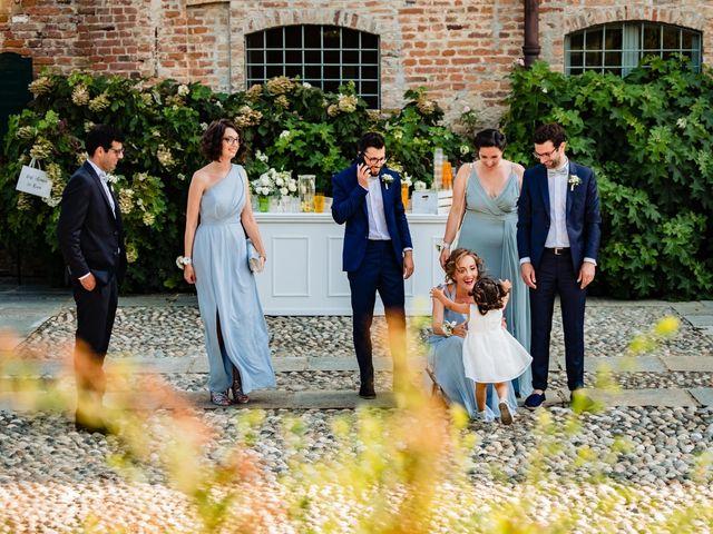 Il matrimonio di Rifat e Chiara a Penango, Asti 15