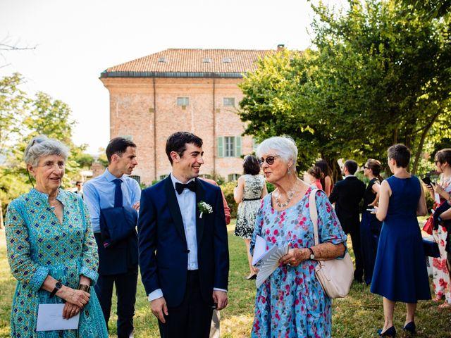 Il matrimonio di Rifat e Chiara a Penango, Asti 16