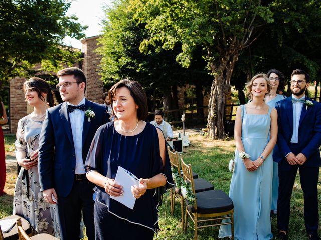 Il matrimonio di Rifat e Chiara a Penango, Asti 17