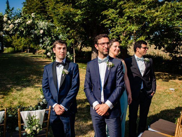 Il matrimonio di Rifat e Chiara a Penango, Asti 18