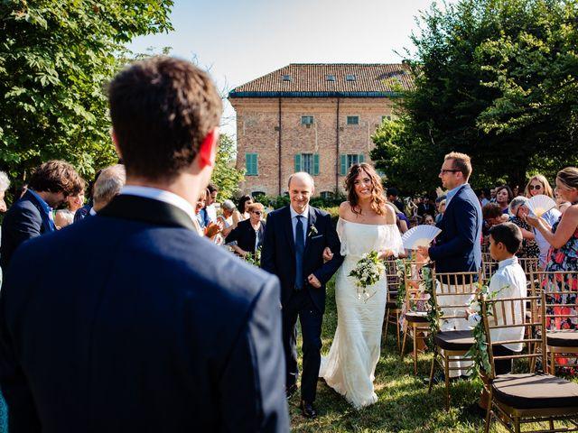 Il matrimonio di Rifat e Chiara a Penango, Asti 19