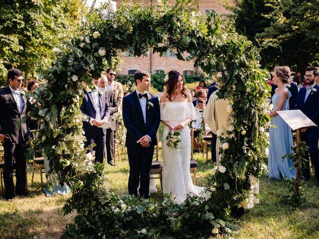 Il matrimonio di Rifat e Chiara a Penango, Asti 20