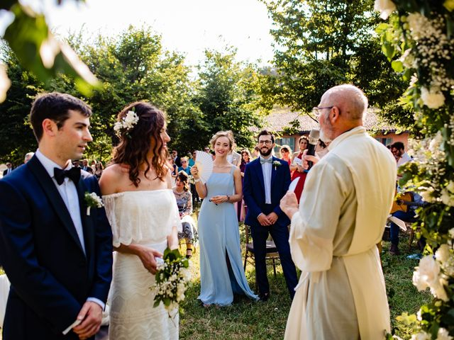Il matrimonio di Rifat e Chiara a Penango, Asti 21