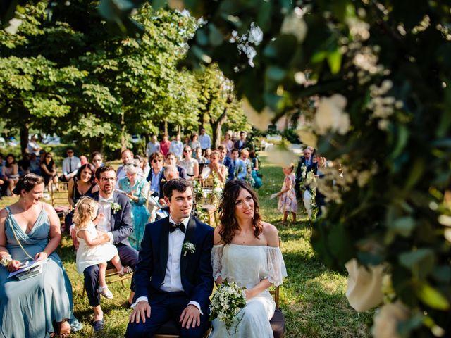 Il matrimonio di Rifat e Chiara a Penango, Asti 22