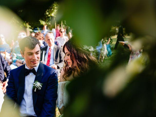 Il matrimonio di Rifat e Chiara a Penango, Asti 23