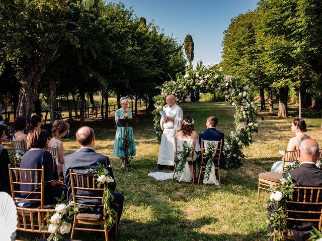 Il matrimonio di Rifat e Chiara a Penango, Asti 24